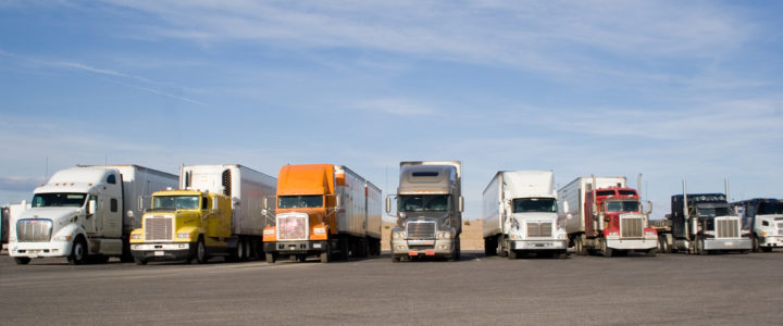 Truck Drivers Protest Defunded Police